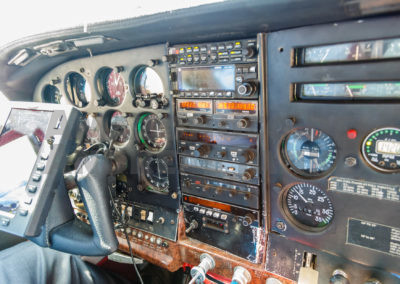 Cockpit of the aircrafts